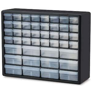 44-Compartment Small Parts Organizer Cabinet
