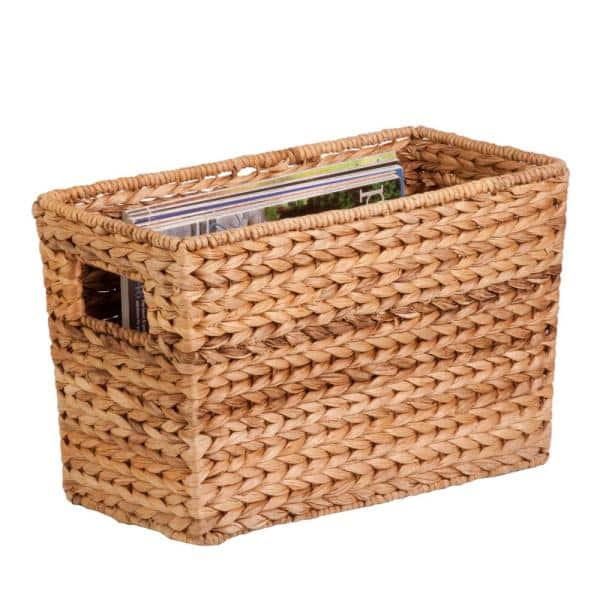 Honey Can Do Natural Water, Home Depot Storage Baskets