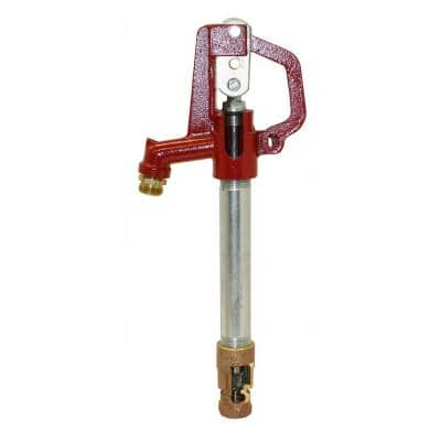 1.5 ft. Bury E5000 Series No Lead Yard Hydrant with Galvanized Steel Standpipe and No Lead Brass Valve Body