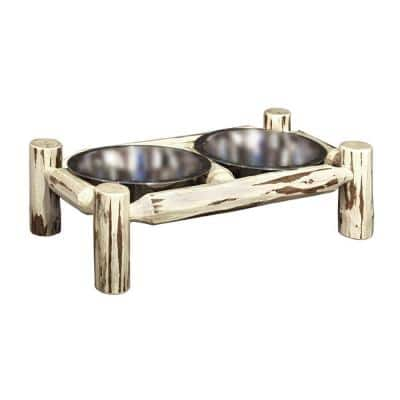 Lacquered Large Pet Feeder