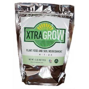 2 lbs. Premium 100% Organic Granular All-Purpose Plant Food and Soil Nourishment/Conditioner and Composter