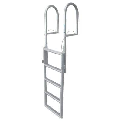 4- Step Standard Rung Lifting Aluminum Dock Ladder