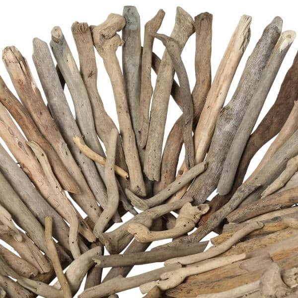 Set Of Two Large Driftwood Bowls
