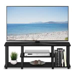 Turn-N-Tube 44 in. Americano Particle Board TV Stand Fits TVs Up to 55 in. with Open Storage