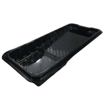15 in. Plastic Shallow Tray Liner (50-Pack)
