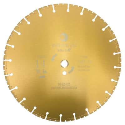14 in. 72-Teeth Segmented Diamond Blade for Dry and Wet Metal Cutting
