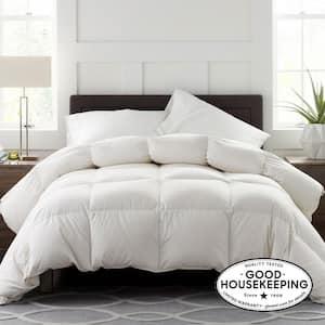 Legends Luxury Geneva Medium Warmth White King Goose Down Comforter