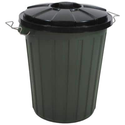 13.2 Gal. Garbage Bin with Latch On Lid