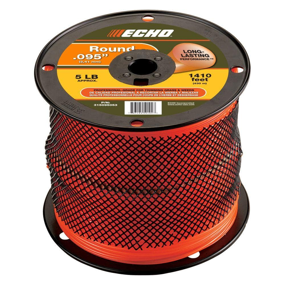ECHO 0.095 in. x 1,410 ft. Large Spool Round Trimmer Line