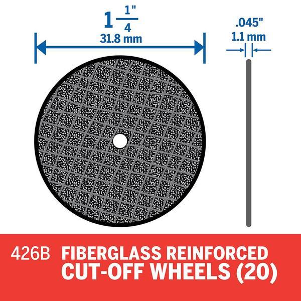TEHAUX 26 Pcs Cut Off Wheel Screw Mandrel Holder Screw Mandrel for Rotary Tools Cutting Wheel Silver