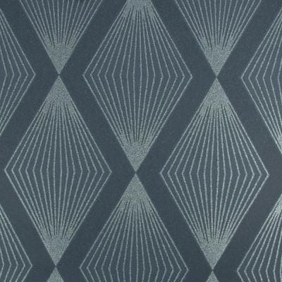 Chandelier Navy Strippable Removable Wallpaper