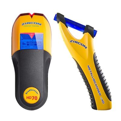 StudSensor HD70 OneStep and MetalliScanner m40 2-Tools for 1 Job