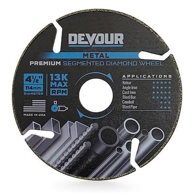 4.5 in. Premium Diamond Metal Cutting Blade