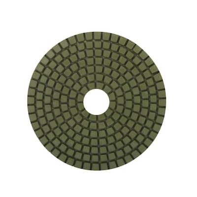 4 in. 800 Grit Resin Wet Polishing Pad