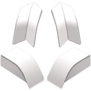 Dilex-AS Bright White PVC Corner Kit
