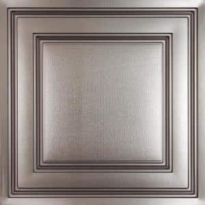 Stratford Faux Tin Feather-Light 2 ft. x 2 ft. Lay-In Ceiling Tile (160 sq. ft./case)