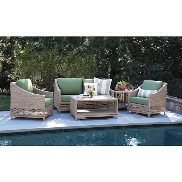 Canopy Prescott 5 Piece Resin Wicker, Prescott Collection Patio Furniture