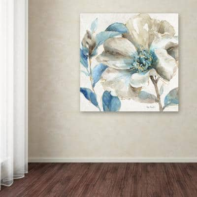 """35 in. x 35 in. """"Indigold IV"""" by Lisa Audit Printed Canvas Wall Art"""