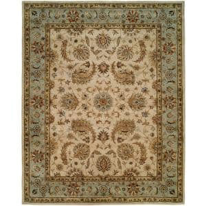Empire Ivory 10 ft. x 14 ft. Area Rug