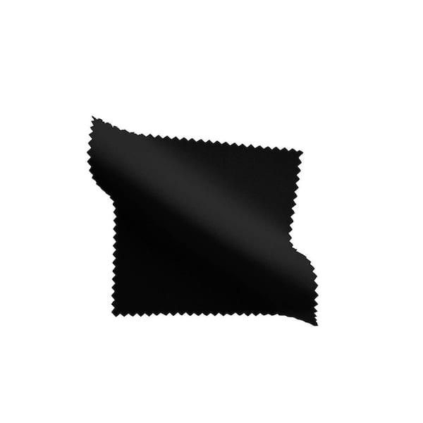 La Linen 90 In X 132 In Black Polyester Poplin Rectangular Tablecloth Tcpop90x132 Blackp24 The Home Depot