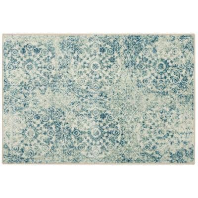 Juniper Navy 2 ft. 6 in. x 4 ft. 2 in. Indoor Area Rug