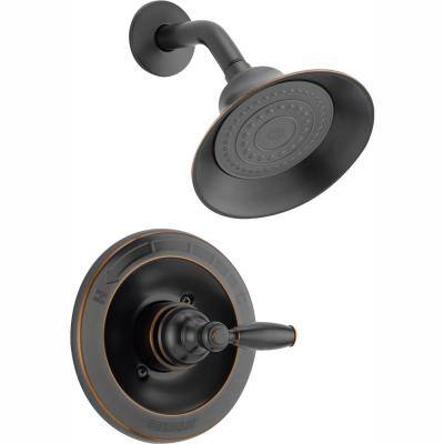 Claymore Single-Handle Shower Faucet Trim Kit in Oil Rubbed Bronze (Valve Not Included)