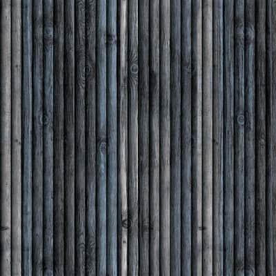 Falkirk Jura II 1/3 in. 28 in. x 28 in. Peel and Stick Blue, Beige Faux Wood PE Foam Decorative Wall Paneling (10-Pack)