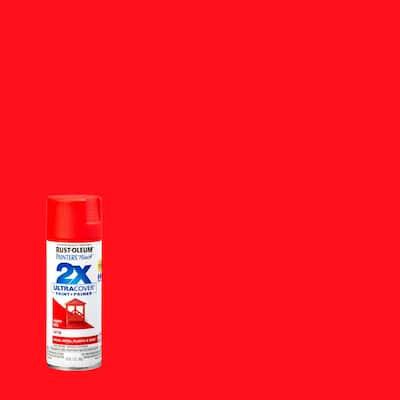 12 oz. Satin Poppy Red General Purpose Spray Paint