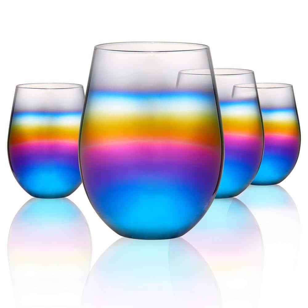 Delta Stemless Glass set