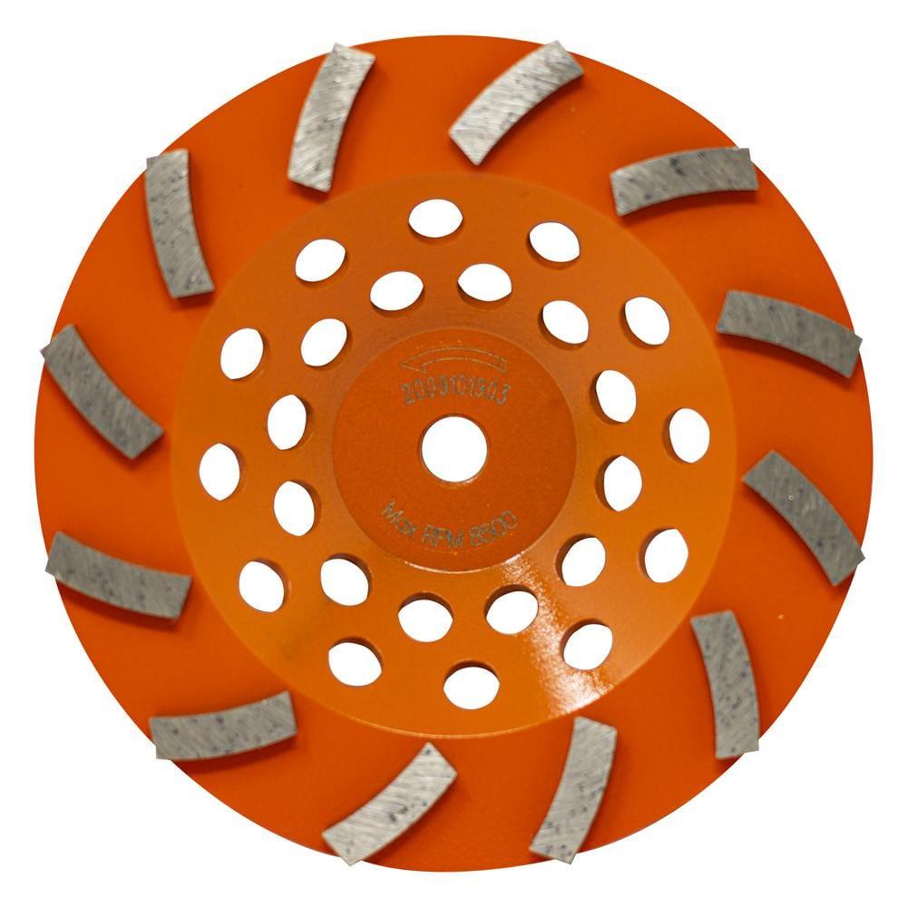 7 Inch 6A2 Diamond Resin Bond Cup Wheel