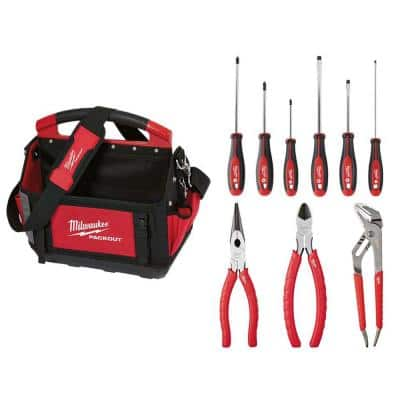 PACKOUT Tote & Hand Tool Set (10-Piece)