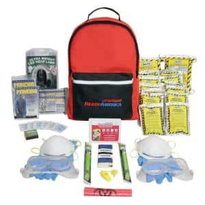 Fire/Blackout Emergency Kit 2 Person 3 Day Backpack