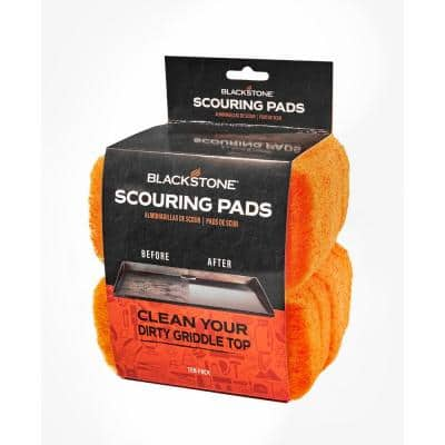 Replacement Griddle Scouring Pads (10-Pack)