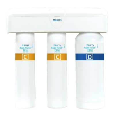 Redi-Twist Purifier 3-Stage Drinking Water Filtration System