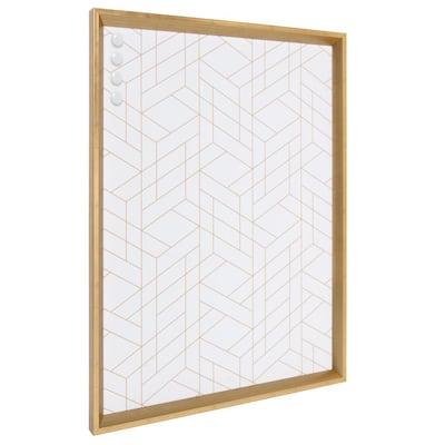 Calter Gold Geo Magnetic Memo Board