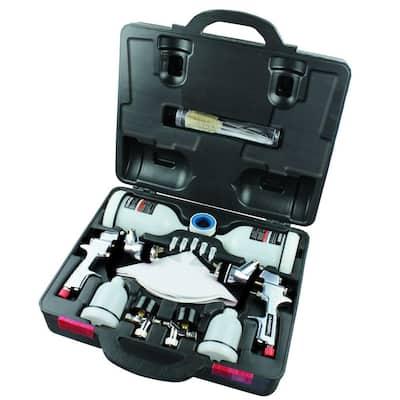 HVLP and Standard Gravity Feed Spray Gun Kit