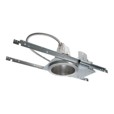 PD6 6 in. Steel LED Recessed Light Housing for New Construction or Remodel Ceilings, Insulation Contact, Air-Tite