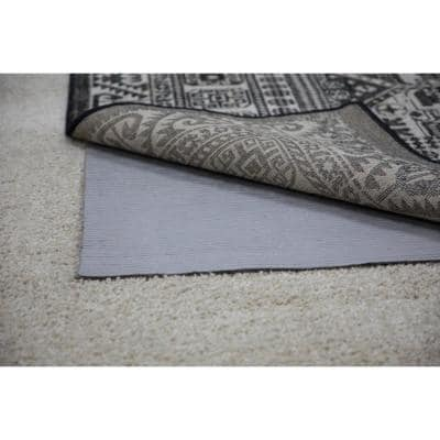 5 ft. x 8 ft. All Pet Grey Felted Reversible Pet Proof Rug Pad