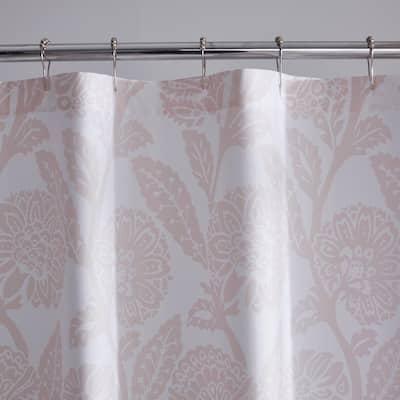 Legends Hotel Sateen Stencil Damask Shower Curtain