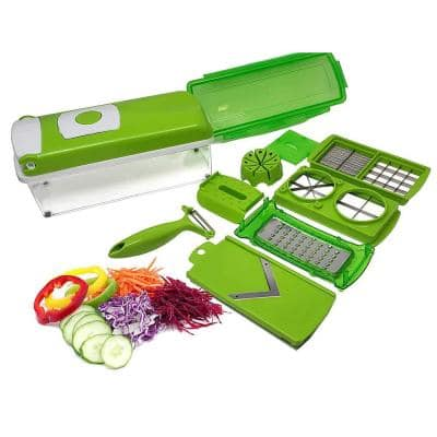 12-in-1 Multi-Use Slicer, Dicer and Chopper French Fry Cutter