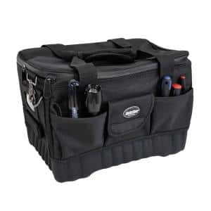 Pro Racer 14 in. Tool Bag All Terrain Bottom with 16 Pockets