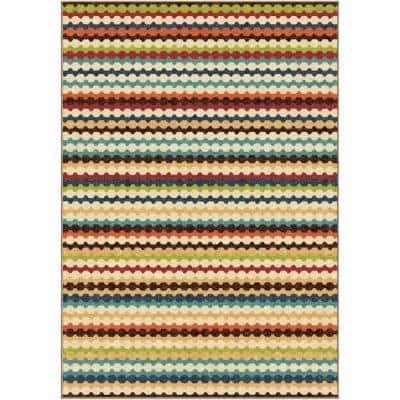 Jumping Jack Ivory 3 ft. x 4 ft. Indoor Area Rug