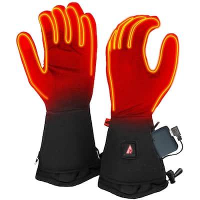 Women's Small/Medium Black 5V Heated Glove Liners
