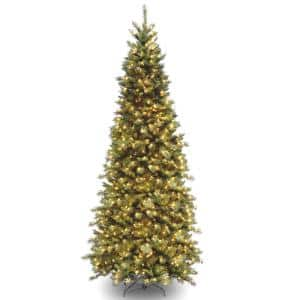 10 ft. Tiffany Fir Slim Tree with Clear Lights