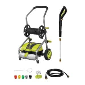2030 PSI 1.76 GPM 14.5 Amp Electric Pressure Washer with Pressure-Select Technology and Hose Reel
