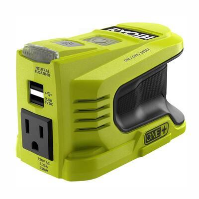 150-Watt Power Inverter for ONE+ 18-Volt Battery (Tool Only)