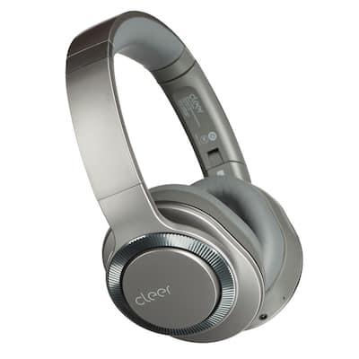 Flow II Wireless Hybrid Noise-Canceling Bluetooth Headphones with Google Assistant in Gunmetal