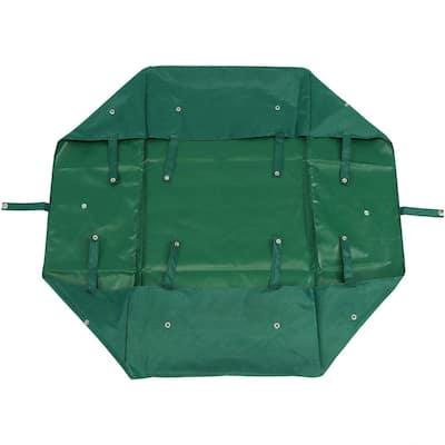 Green Heavy-Duty Vinyl Utility Garden Cart Liner