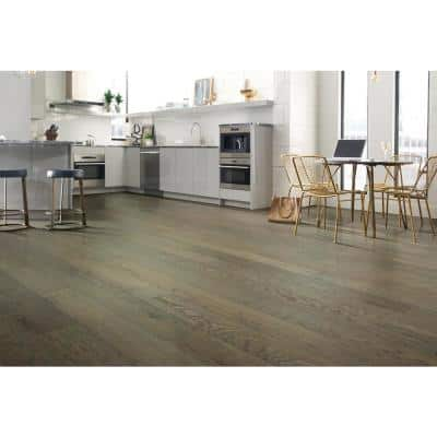 Serenity Oak Trail 1/2 in. T x 6.375 in. W x Varying Length Water Resistant Eng. Hardwood Flooring (25.40 sq. ft. case)