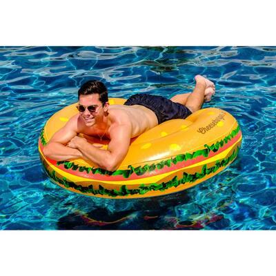 Cheeseburger in Paradise Swimming Pool Float